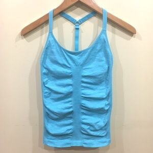 Athleta rushed racerback fitted tank top